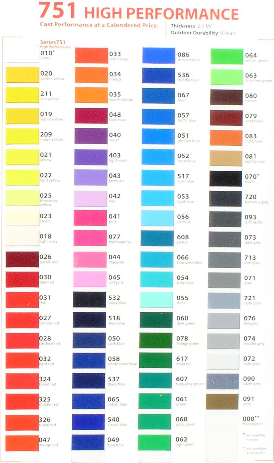 3m Sign Vinyl Colors Related Keywords - 3m Sign Vinyl ...